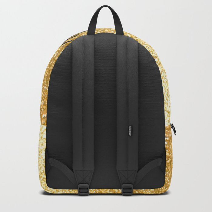 Gold Classy as fuck Backpack