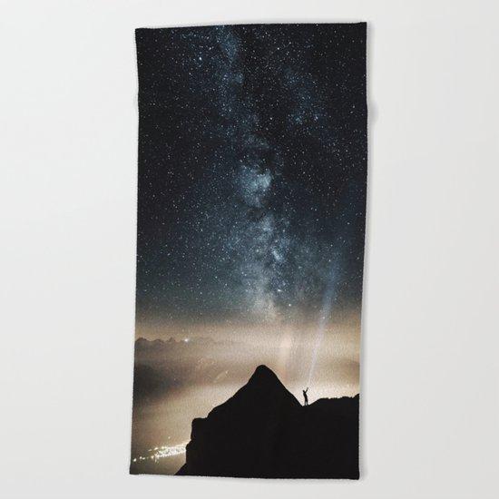 The Explorer Beach Towel