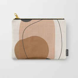 Minimal Abstract Art 12 Carry-All Pouch