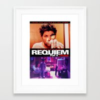 parks and rec Framed Art Prints featuring Requiem for a Tuesdays Movie Poster (Parks and Rec) by Catofnimes