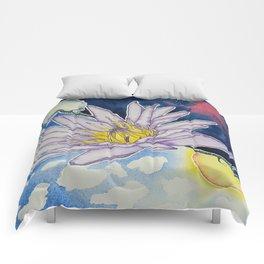 Night and Day Water Lily Comforters