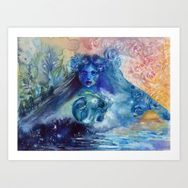 The Great Beyond Art Print