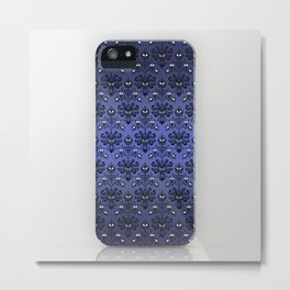 Haunted Mansion Ghost Pattern iPhone 4 4s 5 5s 5c, ipod, ipad, pillow case and tshirt Metal Print
