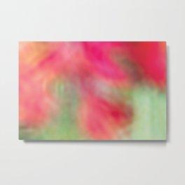 Pink Flower Dreaming Metal Print