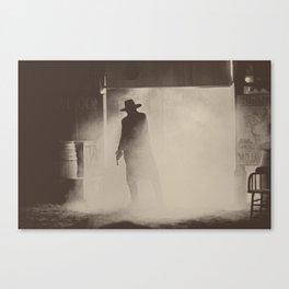 Gunslinger - Dramatic Portrait - Tucson, AZ Canvas Print