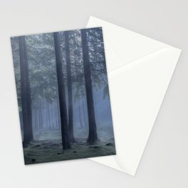 Forest atmosphere - Kessock, The Highlands, Scotland Stationery Cards