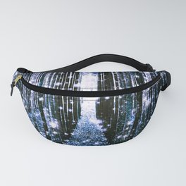 Magical Forest Dark Blue Elegance Fanny Pack