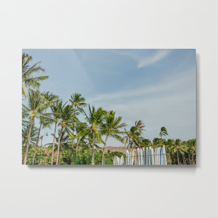 Waikiki Beach III Metal Print