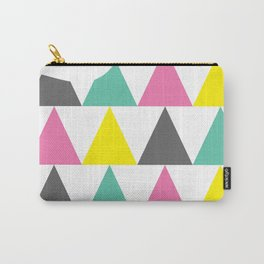 Mini Triangles Carry-All Pouch