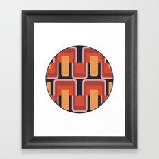 MCM Coaster Framed Art Print