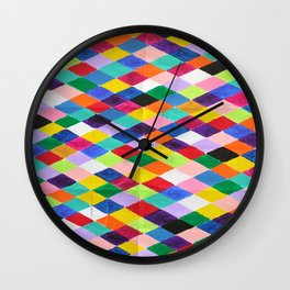 You.Me.Us Dos Background Wall Clock