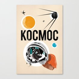 Kocmoc/Laika Canvas Print