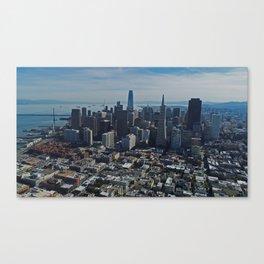 San Francisco Downtown Canvas Print