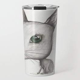 NORDIC ANIMAL - HAZEL HARE / / ORIGINAL DANISH DESIGN bykazandholly  Travel Mug