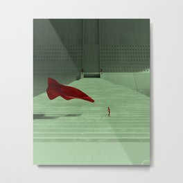 A breath of brutalism Metal Print