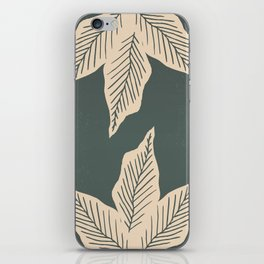 Surrounded by Plant Lovers - Green & Beige iPhone Skin