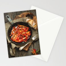 Rustic Food. Stationery Cards
