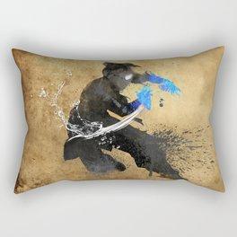 Get Bent :: Water Rectangular Pillow