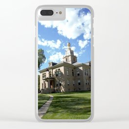 San Juan County Courthouse in Silverton Clear iPhone Case