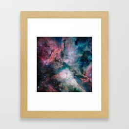 Carina Nebula - The Spectacular Star-forming Framed Art Print