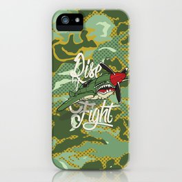 Rise and Fight iPhone Case