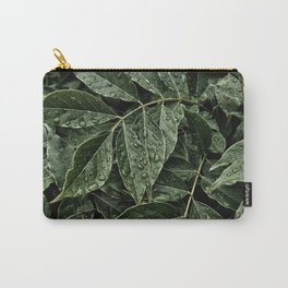 dewdrops on leaves #society6 #decor #buyart Carry-All Pouch