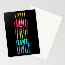 Simple YOLO Cascade Stationery Cards