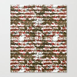 Grunge Textured Abstract Pattern Canvas Print
