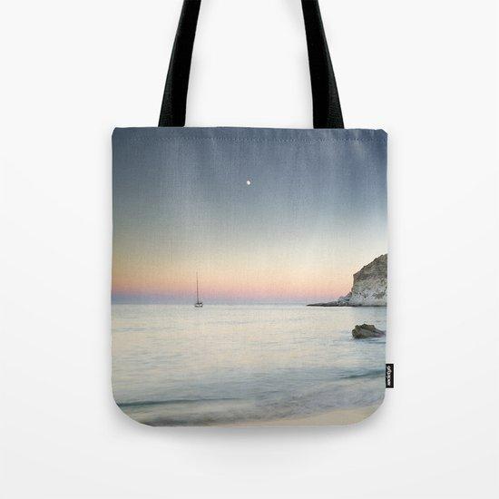 """SuperMoon in Plomo Beach"" Tote Bag"