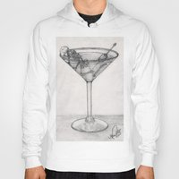 martini Hoodies featuring Addiction martini by CharlieValintyne