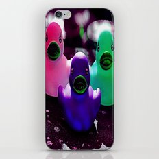 Squeaky duck iPhone & iPod Skin