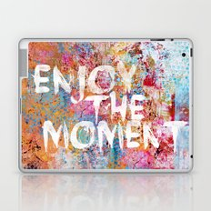 Enjoy the moment II Laptop & iPad Skin