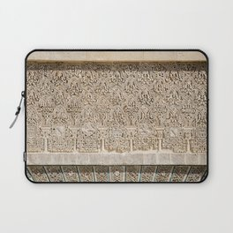 Windowsill at Royal Alcazar of Seville Laptop Sleeve