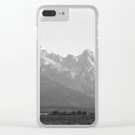 Grand Teton Airport Clear iPhone Case