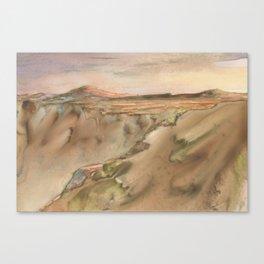 Monsoon run Canvas Print