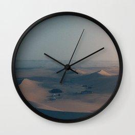 Castle dunes Wall Clock
