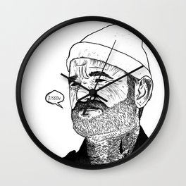 Team Zissou Wall Clock