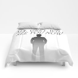 Fifty Shades of Grey (Mr. Grey will see you now.) Comforters