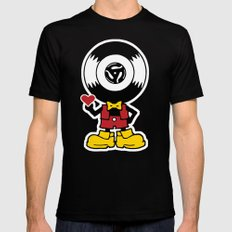 Vinyl Richie Black MEDIUM Mens Fitted Tee