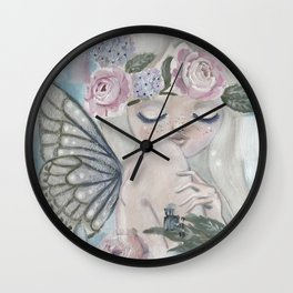 Aurora Dream Pixie Wall Clock