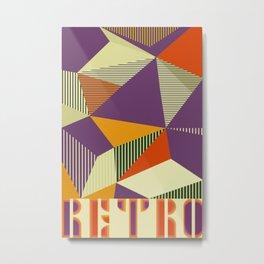 RETRO Metal Print