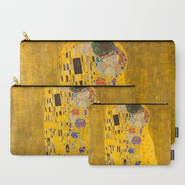 The Kiss Gustav Klimt -1908-1909 Carry-All Pouch