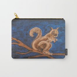 Squirrel Study Carry-All Pouch