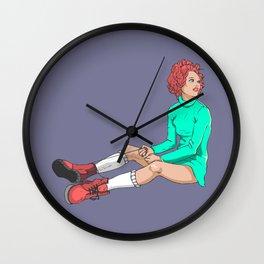 PastelGirl Wall Clock