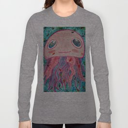 Early Bright Jellyfish Long Sleeve T-shirt