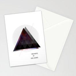 Des Mots et Des Lignes Stationery Cards