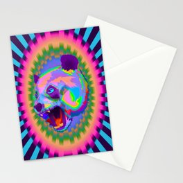 Prismatic Panda  Stationery Cards