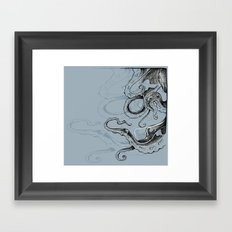 TentacleS Framed Art Print