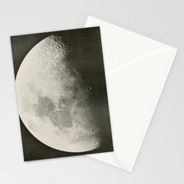 The Adolfo Stahl lectures in astronomy (1919) - The Moon, 9 Days Old, October 1891 Stationery Cards