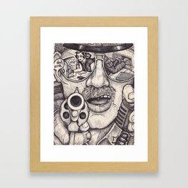 Caught Framed Art Print